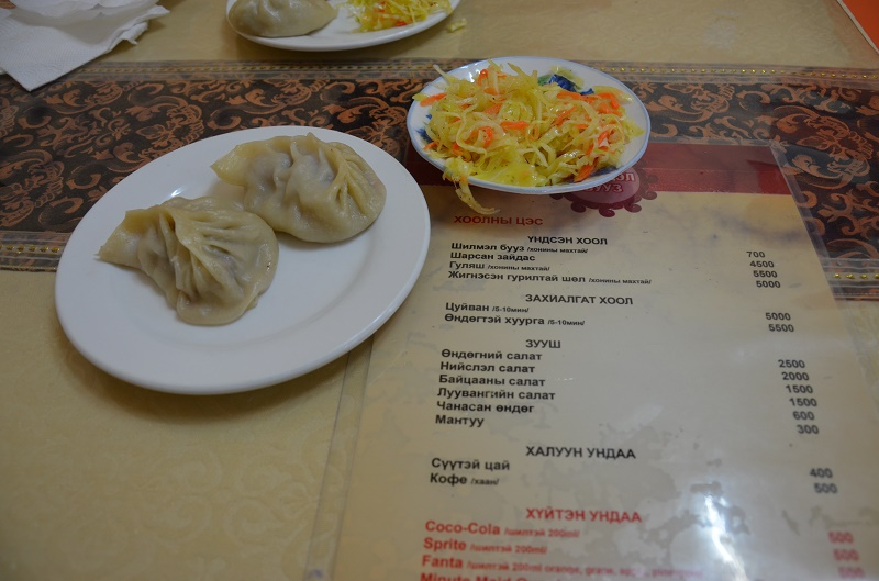 Repas mongol