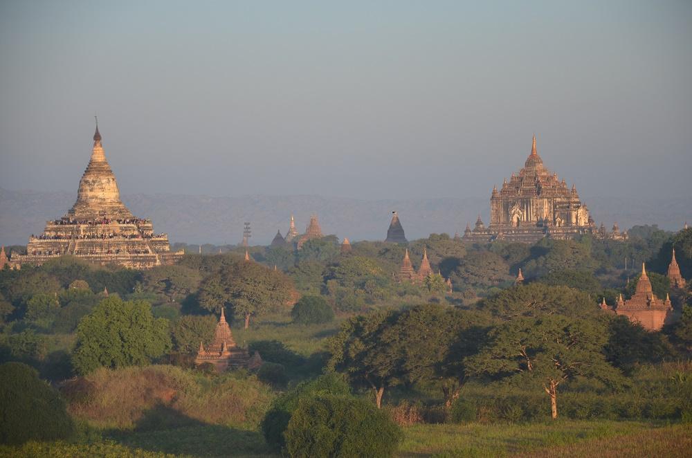 01 - pagodes de différents styles