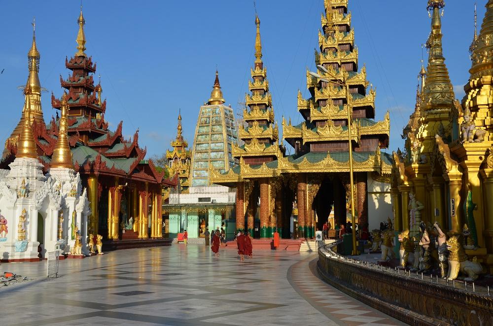 18 - pagode Shwedagon - vue d'ensemble