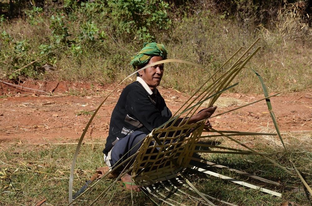 26 - Panier bambou