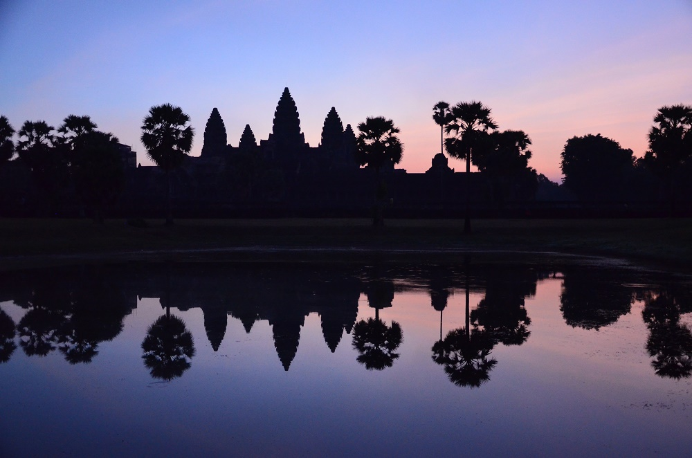 03 - Lever de soleil à Angkor
