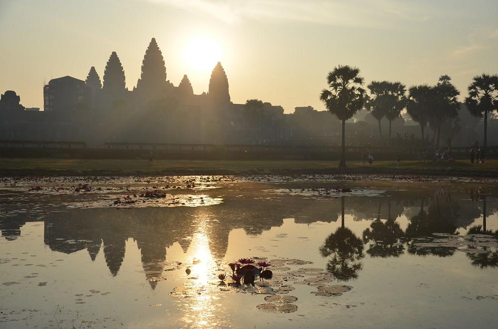 04 - Lever de soleil à Angkor