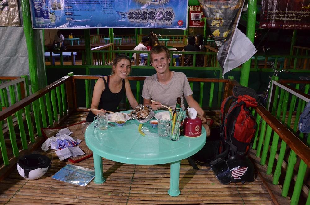 07 - dîner sur la plage