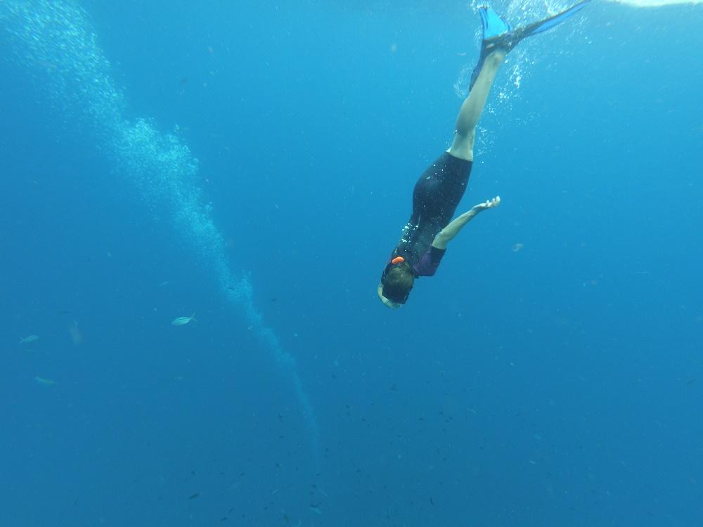 Popo la plongeuse
