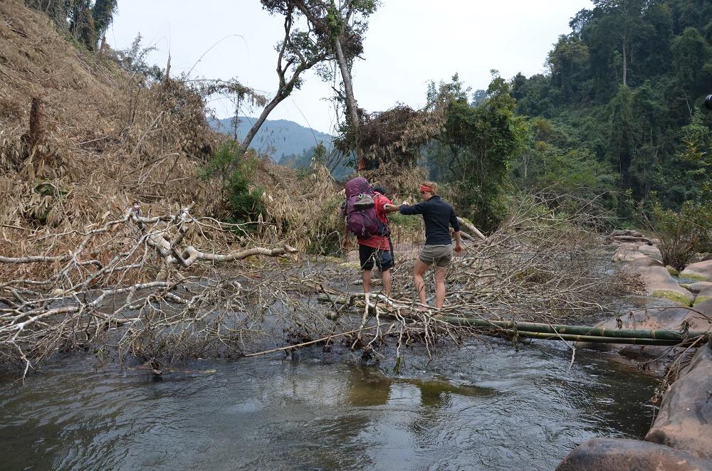 13 - Pont en bambou