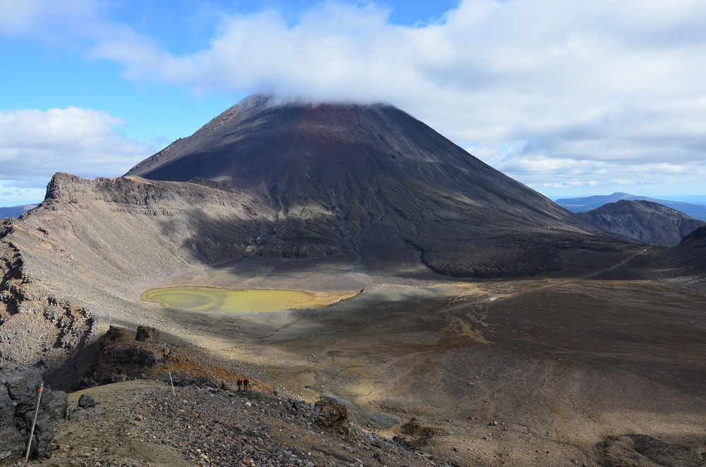 11 - Vue sur le Mt Ngauruhoe