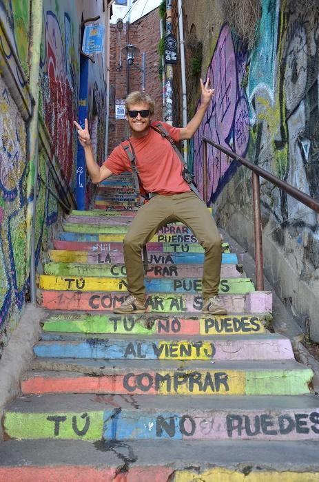 21 - escalier coloré