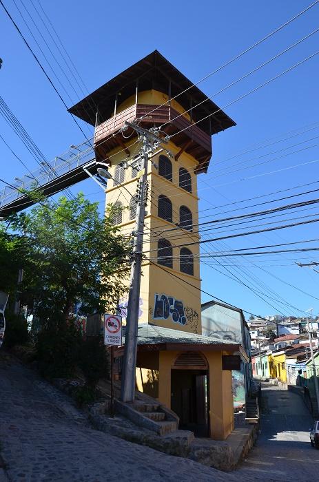 27 - la tour de l'ascenseur Polanco