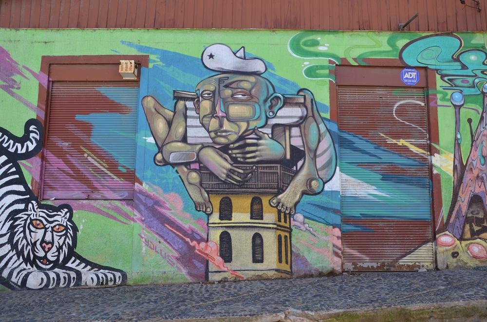 28 - fresque dans le quartier Polanco
