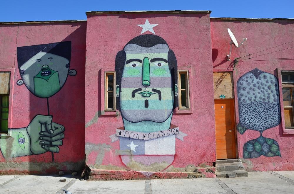 29 - fresque dans le quartier Polanco