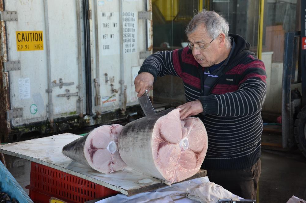 34 - découpe du thon