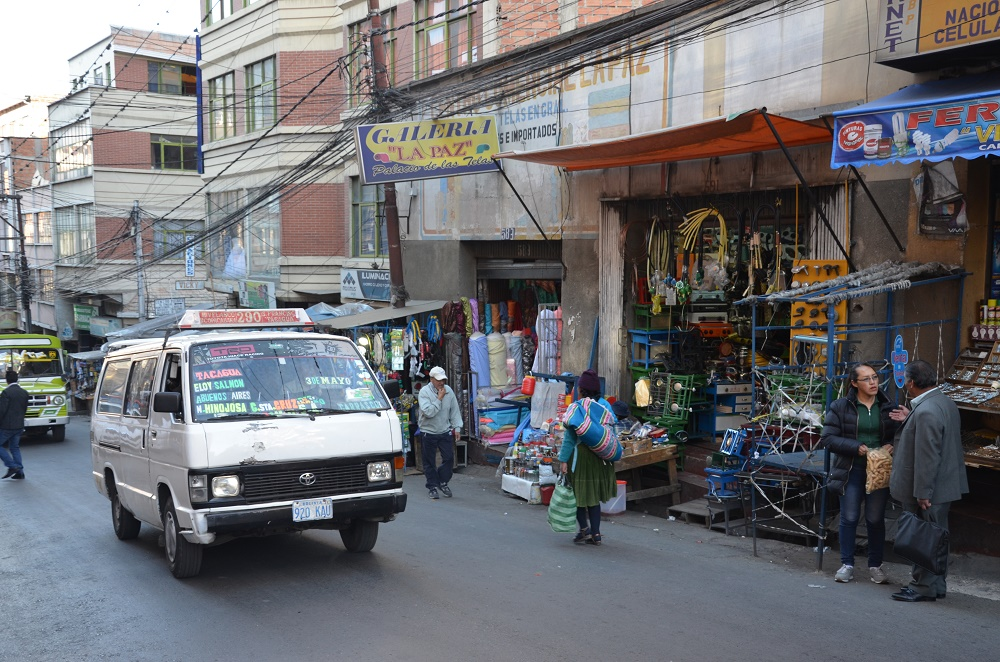 06 - une rue de La Paz